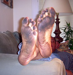 Filthy feet (nwdcguy1) Tags: feet barefoot dirtyfeet filthyfeet