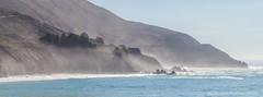 Misty in Big Sur (flygrl67) Tags: ocean california morning blue autumn trees mist fall fog coast highway rocks pacific bigsur rocky cliffs hills pch coastal cypress