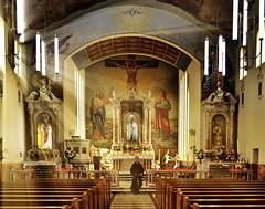 Capuchin friar at St Anthony's Shrine (phunnyfotos) Tags: church nikon shrine catholic australia melbourne victoria vic 1961 romancatholic hawthorn friar franciscan capuchin d5100 stanthonysshrine nikond5100 phunnyfotos
