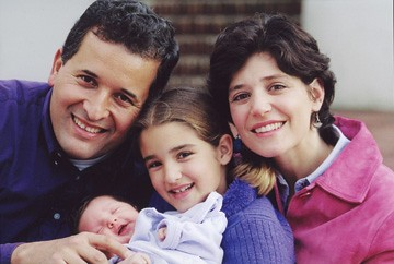 Juan and his family