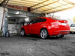 Individual. (Stefan Sobot) Tags: red car fire nikon 4x4 serbia sac fast m exotic turbo german bmw belgrade suv luxury rare beograd supercar v8 individual srbija x6
