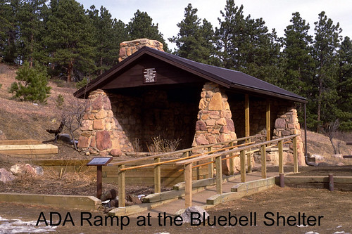 Photo - ADA Ramp at the Bluebell Shelter