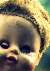 52 Weeks...Week 43 Creepy (elliemae224) Tags: canon doll creepy 2012 week43 islandofthedolls 522012 52weeksthe2012edition weekofoctober21