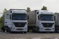 Mercedes-Benz Actros MP2 (Czyzu) Tags: azerbaijan mb mp2 actros