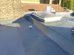 liquid rubber SD650 ny 3m flat roofing 8