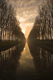 Schipdonkkanaal, Damme, Belgium
