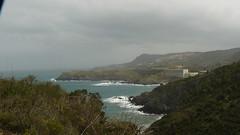 Anse de Peyrefite, Cap Peyrefite, cap Cerbre... (Claudie K) Tags: paysage vagues hpital banyuls sentierlittoral cieldeplomb capcerbre avecgwen cappeyrefite coupdest claudiek peyrefiterederis puntadencames