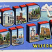 Greetings from Fond du Lac, Wisconsin - Large Letter Postcard