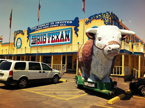 "The Big Texan Steak Ranch - Amarillo, Texas • <a style=""font-size:0.8em;"" href=""http://www.flickr.com/photos/20810644@N05/8142741175/"" target=""_blank"">View on Flickr</a>"
