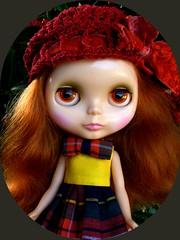Hadley, my ravashing red head!!