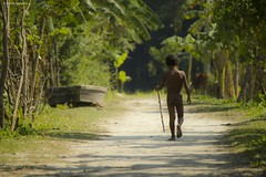 The king without territory ( )... (Words Of Silence) Tags: people childhood kids rural canon children asia moments village candid streetphotography free human conceptual bangladesh southasia 550d 55250mm rememberthatmomentlevel1