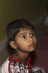 Surprised (Chesil) Tags: street travel portrait india girl child indian surprised chesil