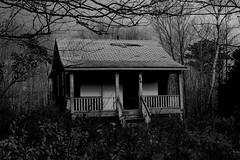 86 HPR (M.B.T.) Tags: house canada cute rot abandoned home nova real prime estate post decay cottage dream location upper porch railing verandah scotia halifax plain cheap 86 hammonds eyesore fixer