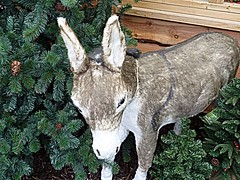 Donkey (BowBelle51) Tags: santa decorations train reindeer lights penguins fireplace fairground donkey carousel robins polarbear nativity snowglobe eskimo baubles meerkats fircones