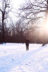 Day 1/365 (Kristine Ortega) Tags: trees portrait snow chicago self project day days 365 kristine ortega forrestpreserve kristineortega
