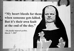 Rob Ford ... My Heart Bleeds (Martinho) Tags: street toronto canada art ford graffiti mayor graf political politics rob drugs scandal controversy socialcomment