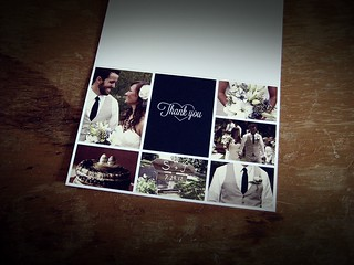 Our Wedding Thank You Cards