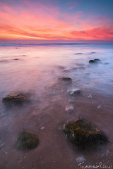 Hidden Treasure (Tommaso Renzi) Tags: light sunset red seascape tramonto seascapes explosion lazio sper