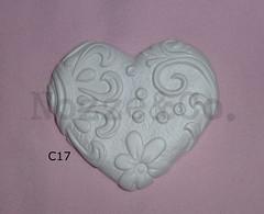 BISCUIT cuore damasco (Nozze&Co.) Tags: gesso bomboniera gessetti profumata profumati profumatori segnapostomatrimonio