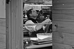donuts (japanese forms) Tags: street food man market random bokeh candid streetphotography foodporn donuts chalet shack snacks agfa crpes streetshot agfafilm strasenfotografie japaneseforms2013