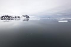 at the end of the world (pilapix) Tags: sea mountains ice islands svalbard arctic environment spitsbergen calmness sjuöarna