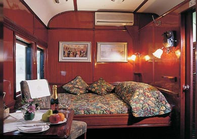 Rovos Rail from the Luxury Train Club Suite a photo on