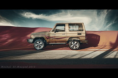 Land Cruiser series70 (meshal al-mazyad) Tags: car sand 4x4 4wd saudi arabia toyota land cruiser 2007 series70