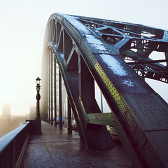 Tyne Bridge (digitaldorman [Anthony Dorman]) Tags: fog newcastle earlymorning gateshead tynebridge foggymorning earlymorninglight gatesheadquayside newcastlequayside newcastlephotographer newcastleportraitphotographer digitaldorman anthonydorman anthonydormanphotography anthonydormanphotographer newcastlebasedphotographer northshieldsphotographer anthonydormanphotos newcastlereportagephotographer foggytynebridge earlymorningtynebridge