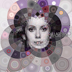 nouvelle vague (Village9991) Tags: france beauty mosaic circles catherinedeneuve nouvellevague