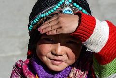 Tibetan girl, Sichuan, China 藏族小女孩 (-LYJ-) Tags: tibetangirl tibetan