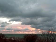 Morning Light (Georgie_grrl) Tags: morning sky toronto ontario beautiful clouds sunrise lovely brrrrr thebeaches isawthelight cans2s mydarkpinkside samsungd760
