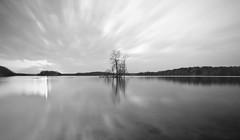 Loch Raven (BeetleBrained) Tags: longexposure sunset blackandwhite bw water photoshop nikon sigma maryland baltimore reservoir bnw 10mm lochraven cs5 d5100