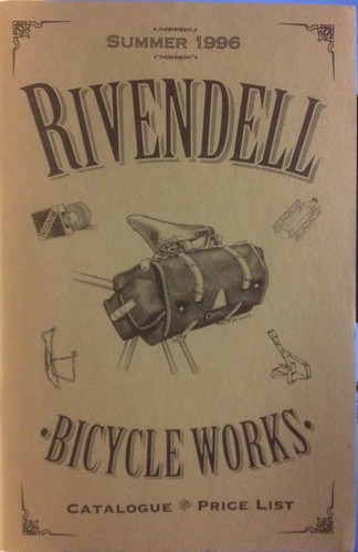Rivendell Bicycle Works 1996 Catalogue