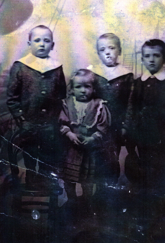 Great Aunt Edmiston (aged 4) From Queenspark 1911