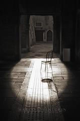 Hot spot (Marco Venturin Photography) Tags: light white black chair nikon minimal bianco sedia nero luce marven72 marcoventurin marcoventurincom
