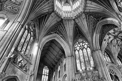 Ely Cathedral (Colin'sPic's) Tags: bw tower crossing cathedral ely cambridgeshire elycathedral octagonal
