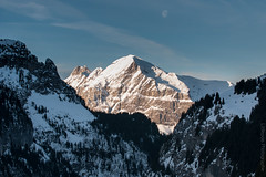 Coucher de Lune (Littlepois Photographie) Tags: mountain france montagne alpes nikon 74 flaine d300 nikon70200f28vr lr4 littlepois