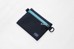 Flat Pouch Aqua 03 (Imagery Bags) Tags: zipper ykk waterresistant flatpouch drypouch