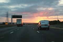 SUNRISE M62 AINLEY TOP (Barrytaxi) Tags: 365 photoaday photoblog landscape outdoor road