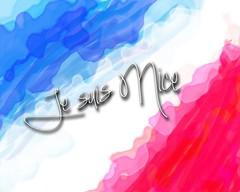 Je suis Nice flag (Grain Sand) Tags: jesuisnice france flag drapeau blueblancrouge bastille watercolor watercolour
