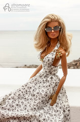 Peterhof (astramaore) Tags: peterhof petersburg eugenia going public 16 astramaore blonde tan tanned summer doll toy photography integrity toys sunglasses sunkissed necklace sea