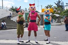 Cosplay (lurcon) Tags: none people cosplay gente convencin guatemala ciudad powerpuff girls chicas superpoderosas crossplay