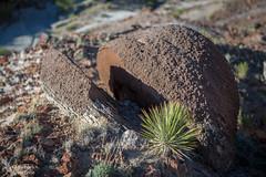 Split decision (Squirrel Girl cbk) Tags: 2016 july nacimientoformation newmexico sanjuanbasin concretion geology sandstone yucca