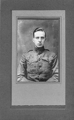 L E Hull portrait 1918 (Madison Historical Society) Tags: madisonhistoricalsociety madisonhistory mhs madison connecticut conn ct connecticutscenes country newengland scan bobgundersen museum old historical history worldwari wwi firstworldwar greatwar military leeacademy academy bostonpostroad route1 interesting image inside indoor interior shoreline document people