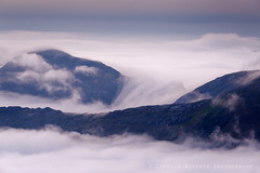 the flow (Camillo Berenos) Tags: munro scottishhighlands scotland inversion mountains mountain dawn morning wilderness clouds