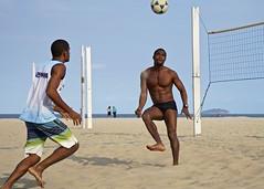 Footvolley (alobos Life) Tags: footvolley sport futbol sand arena boy guy garoto cute nice beautiful sunga speedo water beach playa funny enjoying rio de janeiro brasil brazil have fun outdoors candid brazilian brasileo futevolei 2016 copabana