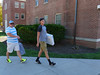 P1260185 (Widener University) Tags: movein studentmoveinday freshmanmoveinday freshman transfer boxes bins unload volunteers faculty staff