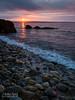 Dawn, Camden, Maine (18868-18869) (John Bald) Tags: daybreak clouds rock shore coastline morning dawn sunrise risingsun horizon sky maine camden islesboro penobscotbay westpenobscotbay