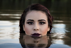 Mermaid I (gossettphotography) Tags: mermaid canonphotography canon canon5dmarkiii mac bobbibrown lashes model sacramento folsom water nature urbandecay makeupartist
