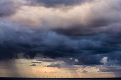 DSC_8628 (kabatskiy) Tags: sea journey northsea scandlines sunset ferry people seaside seasite wind storm passengers seamills windpower windpowerplants windmill